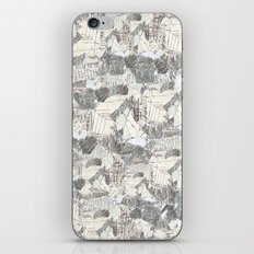 des Königs Blau iPhone & iPod Skin