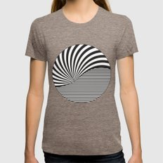 Optical Game 8 Womens Fitted Tee Tri-Coffee SMALL