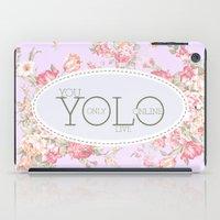 Y O L O iPad Case