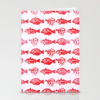 Cosmic Fish Stationery Cards