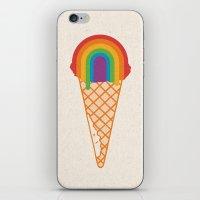 Rainbow Scoop iPhone & iPod Skin