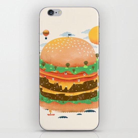 Burgerland iPhone & iPod Skin