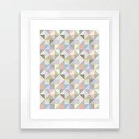 Shapes 003 Framed Art Print