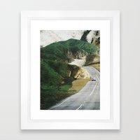collage 10 Framed Art Print