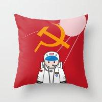 SOVIET Throw Pillow
