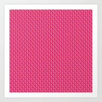 Chain Mail Art Print