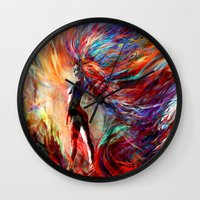 free your...something Wall Clock