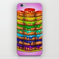 Donuts I 'Sweet Rainbow' iPhone & iPod Skin