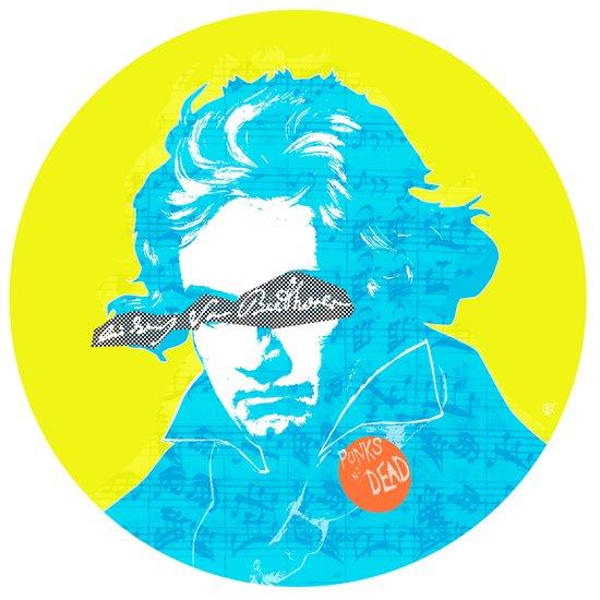 Ludwig van Beethoven 15 Art Print