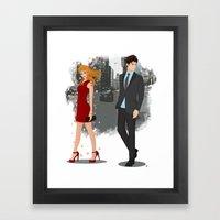 Going Downtown #2 Framed Art Print