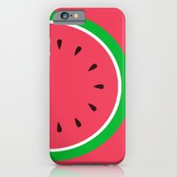 Red Watermelon - Summer time iPhone 6 Slim Case