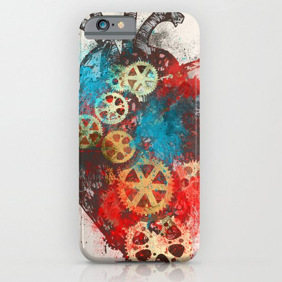 Mechanical Heart iPhone & iPod Case