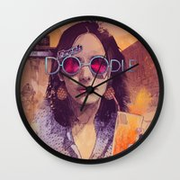 Welcome To The Fresh Doo… Wall Clock
