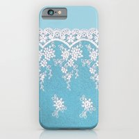 Love of Turquoise #lace iPhone 6 Slim Case