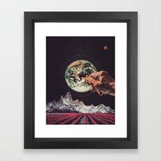The Key To Saving The Planet Framed Art Print