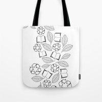recycle reuse Tote Bag