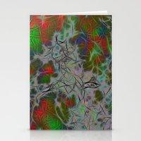 Green Nebula Stationery Cards