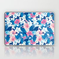 Bloom Blue Laptop & iPad Skin