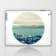 Blue Reykjavik - Iceland Laptop & iPad Skin