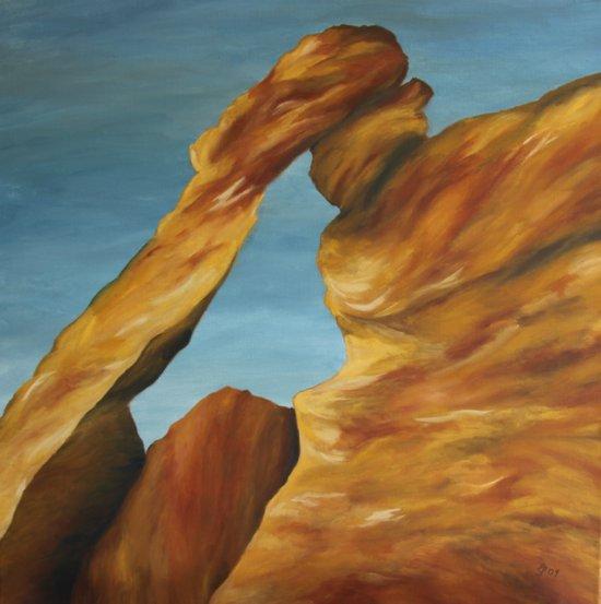 Elephant Rock  Art Print