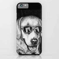 iPhone Cases featuring Feline Fascination by Michelle Bowden Art
