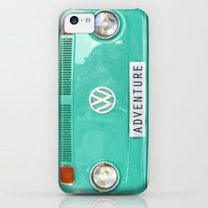 Adventure wolkswagen. Summer dreams. Green iPhone 5c Slim Case