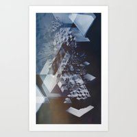 san francisco Art Prints featuring San Francisco by Subcon
