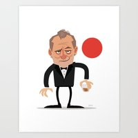 Suntory Time (Vector) Art Print