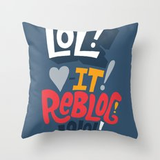 Tumblin' Throw Pillow