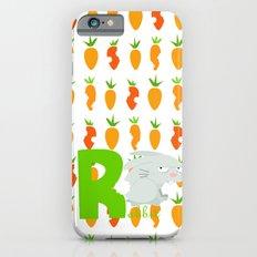 r for rabbit iPhone 6s Slim Case