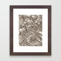 Welcome to my mind Framed Art Print
