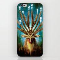 iPhone & iPod Skin featuring Princess Mononoke The De… by Barrett Biggers
