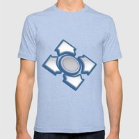 Choose Your Path Mens Fitted Tee Tri-Blue SMALL