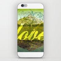 LOVE (1 Corinthians 13:13) iPhone & iPod Skin