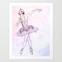 Sugar Plum Fairy Art Print