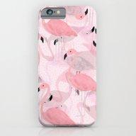 Flamingo Pattern iPhone 6 Slim Case