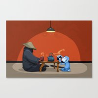 Tea For Two Canvas Print