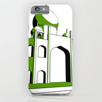 iPhone & iPod Case featuring Taj Mahal by subpatch