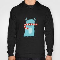 December Monsters: Candy Cane Hoody