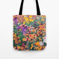 COLOUR POP // SPRING FLOWERS  Tote Bag