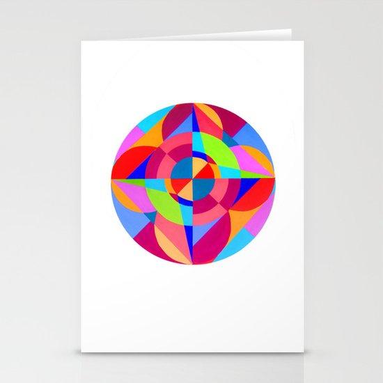Ocular Coloration Stationery Card