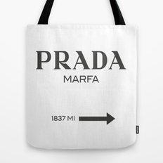 Grey Marfa  Tote Bag