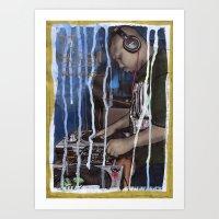 DEAD RAPPERS SERIES - Dj… Art Print