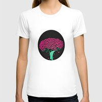 Tree Of Love  Womens Fitted Tee White SMALL