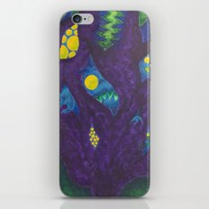 Monsters On My Mind iPhone & iPod Skin