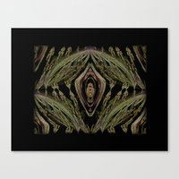 Abstract Tapestry Art. Sage. Canvas Print