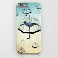 iPhone & iPod Case featuring raven rain by vin zzep