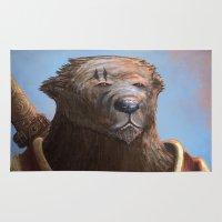 Bear Warrior Rug