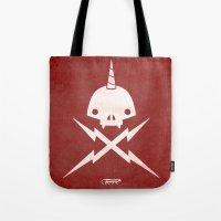Yeticorn Skull & Bolts Tote Bag