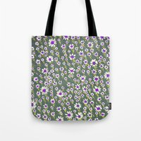 DAISY PATTERN Tote Bag